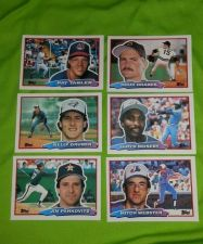 Buy LOT OF 6 1989 TOPPS BIG BASEBALL CARDS GEM MNT JUST PULLED FROM PACK