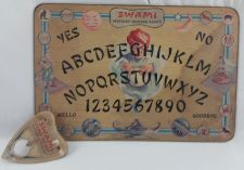 Buy VINTAGE 1940'S SWAMI MYSTERY TALKING BOARD OUIJA GAME GIFT CRAFT