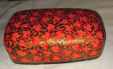 Buy Vintage Lacquered Papier Mache Kashmir Style Box