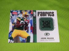 Buy NFL JAVON WALKER PACKERS 2006 FLEER GAME WORN JERSEY RELIC MNT