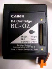 Buy Canon BC 02 BLACK ink printer BJ 100 200 210 230 ex multipass 1000 fax B340 B360