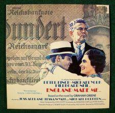 Buy ENGLAND MADE ME ~ Original Soundtrack Recording LP Peter Finch