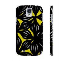 Buy Schaul Yellow Black Samsung Galaxy S4 Phone Case