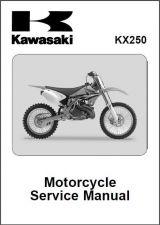 Buy 2005-2007 Kawasaki KX250 Service Repair Workshop Manual CD - KX 250
