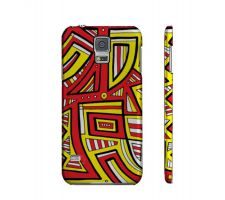 Buy Sins Yellow Red Black Samsung Galaxy S5 Phone Case