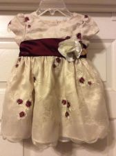 Buy SWEET HEART ROSE GIRLS HOLIDAY DRESS SIZE 12mos