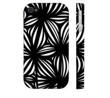 Buy Thibert Black White Iphone 4/4S Phone Case