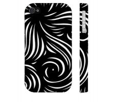 Buy Calzada Black White Iphone 4/4S Phone Case