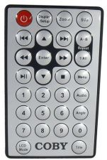 Buy COBY remote control = portable DVD player TFDVD7008 TFDDVD7009 stereo LCD ZOOM