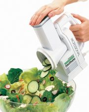 Buy NEW Presto Salad Shooter Electric Slicer Shredder Professional White