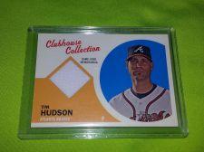 Buy MLB TIM HUDSON BRAVES 2014 TOPPS GAME WORN JERSEY RELIC MNT