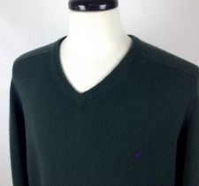 Buy Ralph Lauren Sweater XL Mens Green Wool Long Sleeve