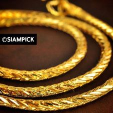 """Buy 24"""" Thai 22k 24k Baht Yellow Gold GP Franco Long Chain Necklace Jewelry Gift #43"""