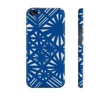 Buy Bizzaro Blue White Iphone 5/5S Phone Case