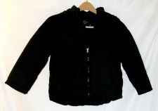 Buy EUC youth sz.S(6-7), Faded Glory black puffer bubble winter jacket with hood.