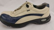 Buy Ecco Casual Sport GTX Golf Shoes Size 39 (8.5) Womens Ice White / Denim Blue