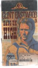 Buy Hang 'Em High VHS NEW SEALED EASTWOOD Original MGM Video