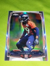 Buy NFL BRADLY ROBY BRONCOS 2014 TOPPS CHROME REFRACTOR RC MNT