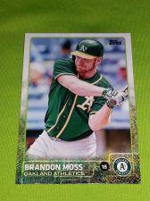 Buy MLB BRANDON MOSS ATHLETICS SUPERSTAR 2015 TOPPS GLOSSY #35 GEM MNT