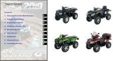 Buy 2010 Arctic Cat ATV Service Repair Manual CD .. all 400 550 650 700 1000 models