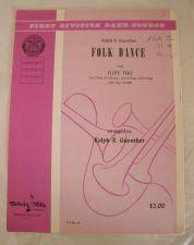 Buy Folk dance - Guenther - Flute Trio
