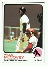 Buy VINTAGE 1973 TOPPS WILLIE McCOVEY # 410 GIANTS NICE