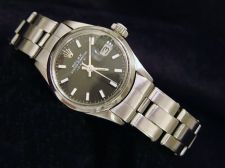 Buy Ladies Stainless Steel Rolex Date Watch Oyster Bracelet