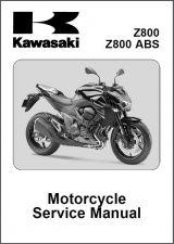 Buy 13-15 Kawasaki Z800 ABS Service Repair Workshop Manual CD .. Z 800
