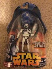 Buy Star Wars Commander Bacara Quick Draw Attack Action Figure