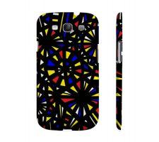 Buy Veverka Yellow Red Blue Samsung Galaxy S3 Phone Case