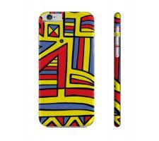 Buy Peek Yellow Red Blue Iphone 6 Phone Case