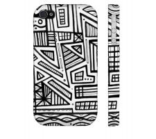Buy Hickley Black White Iphone 4/4S Phone Case