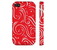 Buy Buster Red White Iphone 4/4S Phone Case