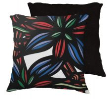 Buy Mcspedon 18x18 Red Blue White Pillow Flowers Floral Botanical Cover Cushion Case Thro