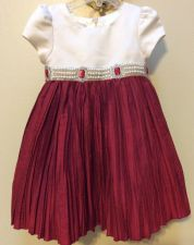 Buy Toddler Girl Cinderella Red Cream Holiday Special Occasion Dress Size 2T