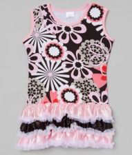 Buy Flower Power Ruffle Dress