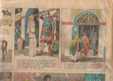 Buy Original Newspaper Comics PRINCE VALIANT 2-11-45 Hal Foster + Mediaeval Castle !