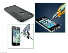 Buy Tempered Glass Screen Protector iPhone 6 and Hyperion Type Hybrid Titan Case