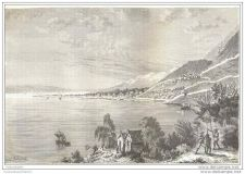 Buy CHINA - MA-CHA & TA-LY LAKE VIEW - engravings from 1873