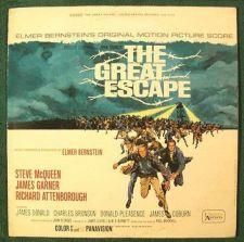 Buy THE GREAT ESCAPE ~ 1963 Original Motion Picture Score LP