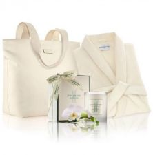 Buy Wedding Bride To Be Gift Set Robe, Case And Candle