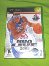 Buy NBA Live 2005 MICROSOFT XBOX TESTED AND WORKING