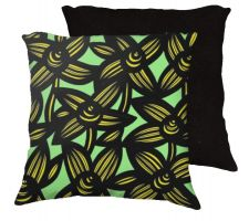 Buy Lacharite 18x18 Yellow Black Pillow Flowers Floral Botanical Cover Cushion Case Throw