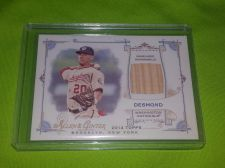 Buy MLB IAN DESMOND NATIONALS 2014 TOPPS A&G GAME WORN BAT RELIC MNT