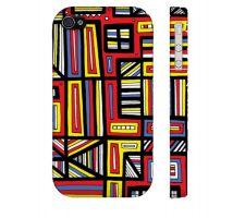 Buy Valdovino Yellow Red Blue Iphone 4/4S Phone Case