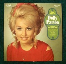 Buy DOLLY PARTON ~ The Best of Dolly Parton 1970 Country LP