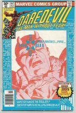 Buy Daredevil #167 MARVEL COMICS 1981 FRANK MILLER KLAUS JANSEN Fine