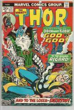 Buy THOR #217 Marvel Comics 1973 ART: JOHN BUSCEMA /Sal Buscema CONWAY Asgard