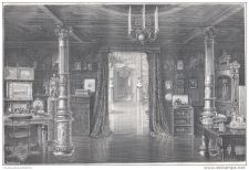 Buy ISTRIA & DALMATIA - ARCHDUKE MAXIMILIEN'S CABINET IN MIRAMAR PALACE engrav. 1875