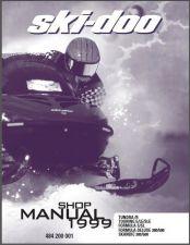 Buy 1999 Ski-Doo Tundra Touring Formula Scandic Service Shop Repair Manual CD
